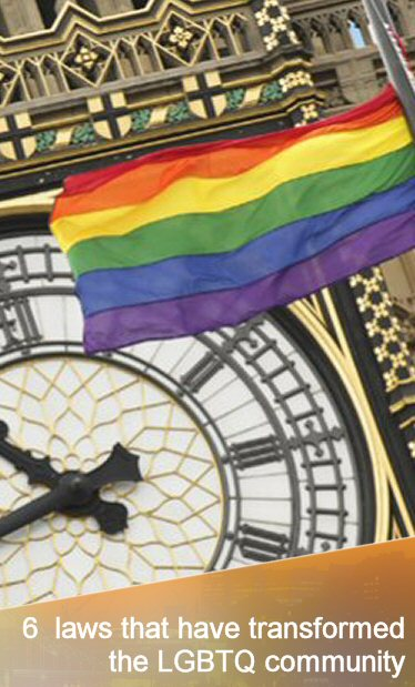 6 game-changing laws that have transformed the LGBTQ community