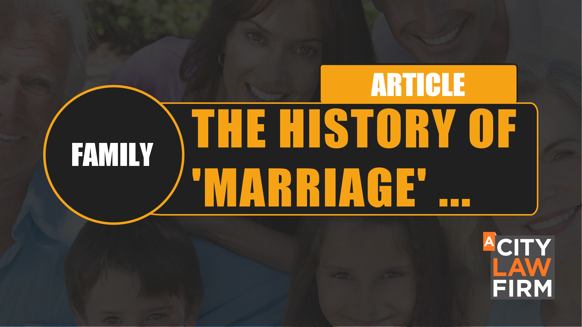 The history of 'marriage' : How many ways can a couple be together in the UK and what are the legal consequences together or through separation?
